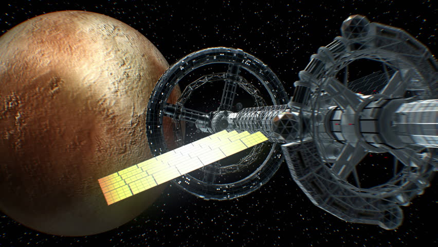 Flight to the Pluto of Stock Footage Video (100% Royalty-free) 1005624922    Shutterstock