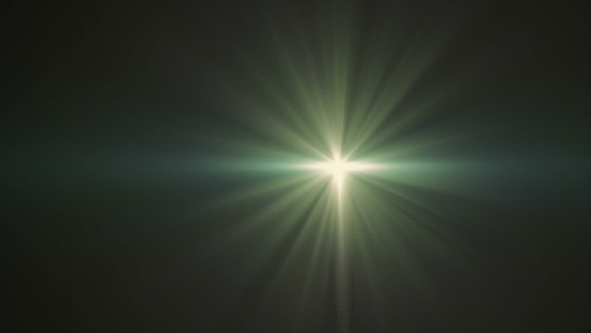 Horizontal green sun star moving lights optical lens flares shiny animation art background - new quality natural lighting lamp rays effect dynamic colorful bright video footage | Shutterstock HD Video #1006629982