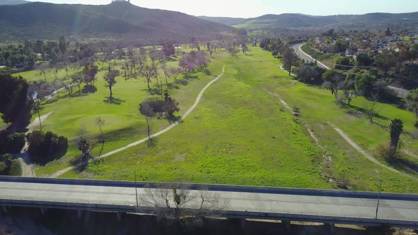 Cottonwood Golf Course - Drone Video. Aerial Video of Cottonwood Golf Club, conveniently located just 20 minutes from downtown San Diego, is one of the finest public golf courses.