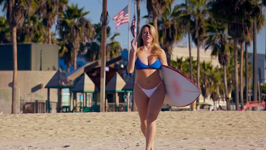 Big tits surfing