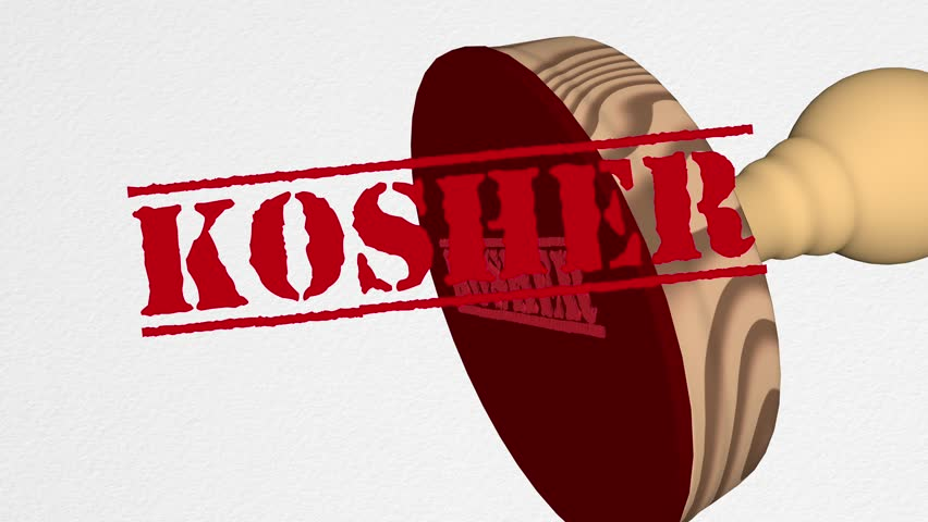 Header of kosher