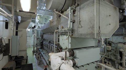Diesel generators set of ship