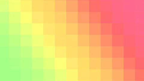 Colorful pixelated gradient animation