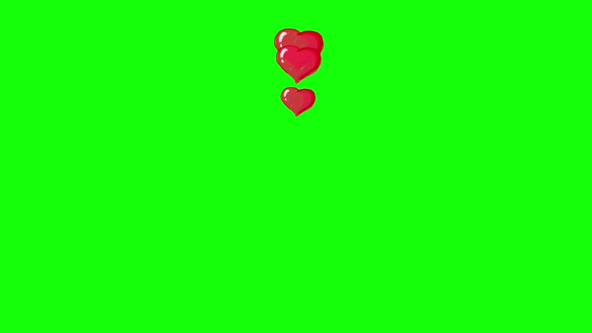 Animated red heart