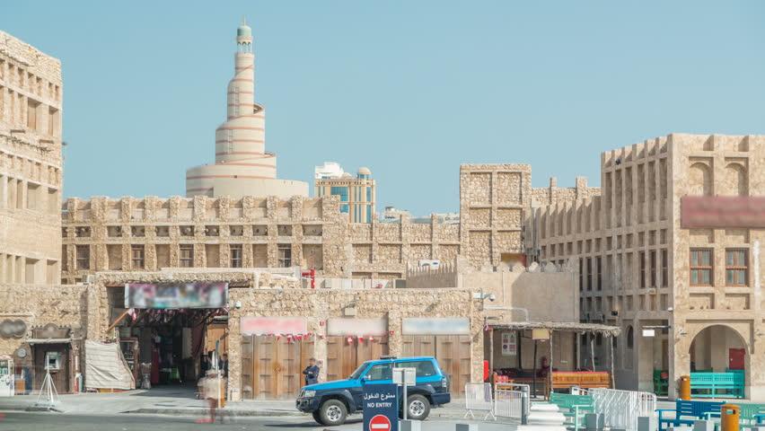 Souq Waqif Timelapse  it is Stock Footage Video (100% Royalty-free)  1007489512 | Shutterstock