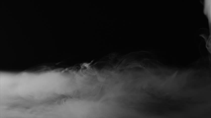Fast Flowing Spooky Fog Flowing over Dark Background 60fps Slow motion | Shutterstock HD Video #1007594422