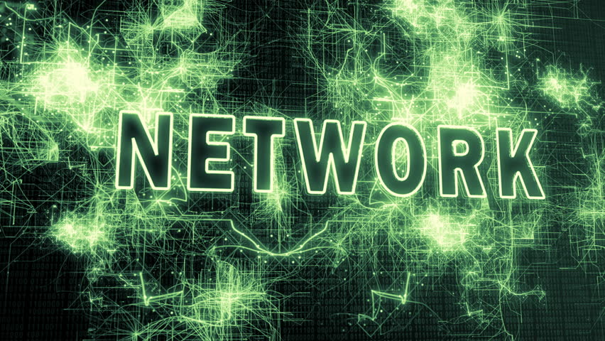The Network and BIG Data - A motion graphics animation illustrating the concept of networked connections and big data | Shutterstock HD Video #1007604271