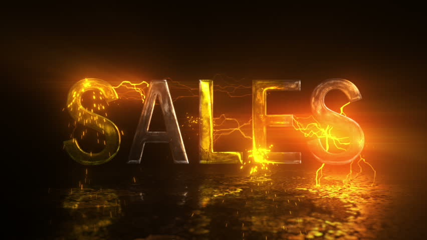 Sale glowing electricity sign. For your advertise, discounts and business   Shutterstock HD Video #1007687233