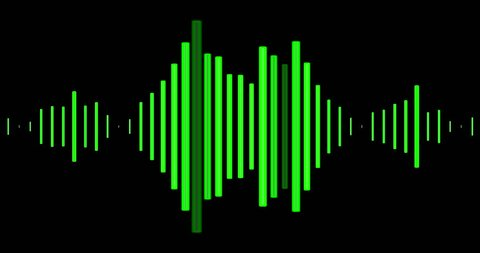 Audio wave visuals for a Podcast or Audiobook.