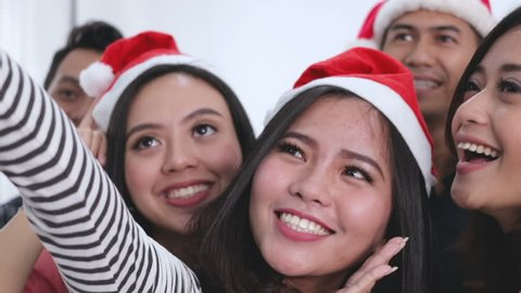 Chirstmas party selfie with bestfriend and free style