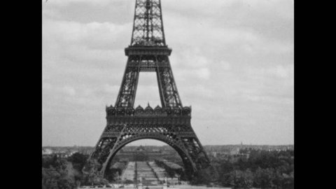 1920s: The Eiffel Tower.