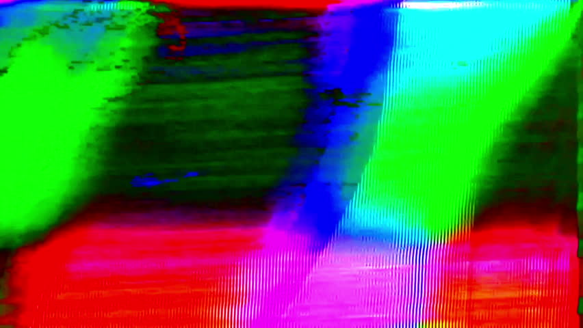 Analog Abstract Video Shapes & Signal Noise FeedBack Manipulation | Shutterstock HD Video #1008225862