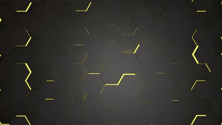 Abstract Hexagons Background Random Motion, 3d Loopable Animation | Shutterstock HD Video #1008331432