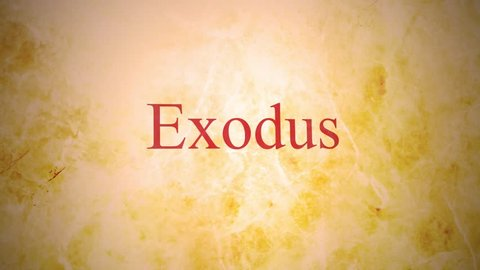 Books of the old testament in the bible series - Exodus