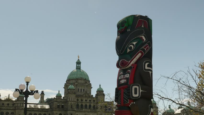 Header of Kwakiutl