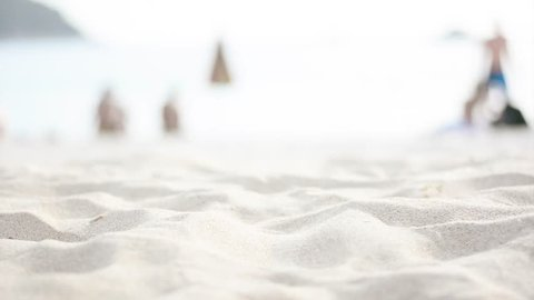 Beach sand blurred focus backdrop-abstract backgrounds