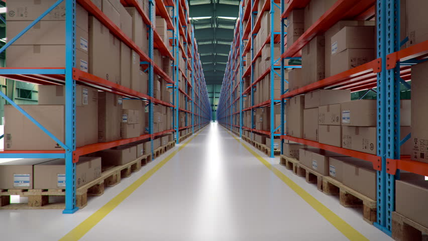 Warehouse looping animation | Shutterstock HD Video #1008871052