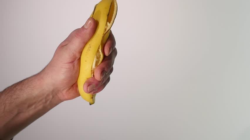 Apologise, there banana peel handjob question