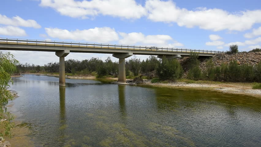 Bridge over the Murchison River, Galena Bridge, Western Australia, Australia, Down Under, Oceania
