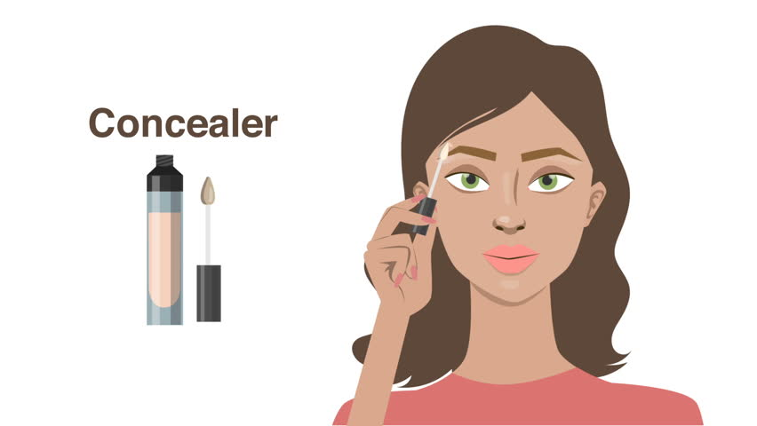 Rezultate imazhesh për makeup concealer cartoon