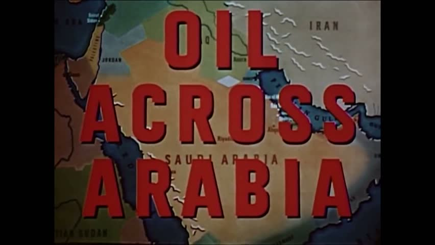 CIRCA 1950s - A narrator explains that until the late 1940s, Middle Eastern culture was not modernized. | Shutterstock HD Video #1009316162