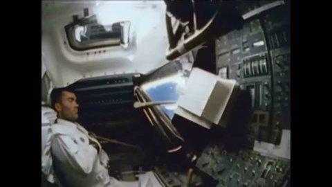 CIRCA 1970 Documentation surrounding the near disaster of Apollo 13