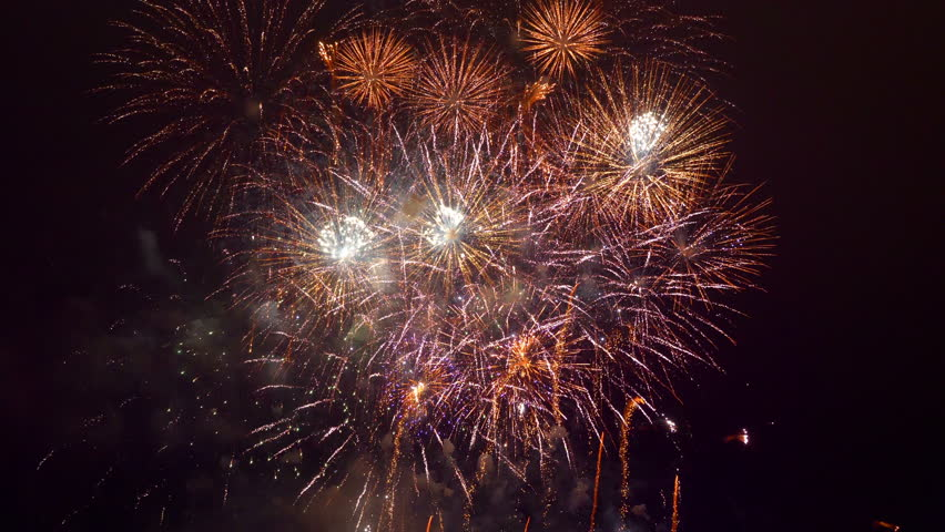 Professional Video of Fireworks Show Stock Footage Video (100%  Royalty-free) 1009453232 | Shutterstock
