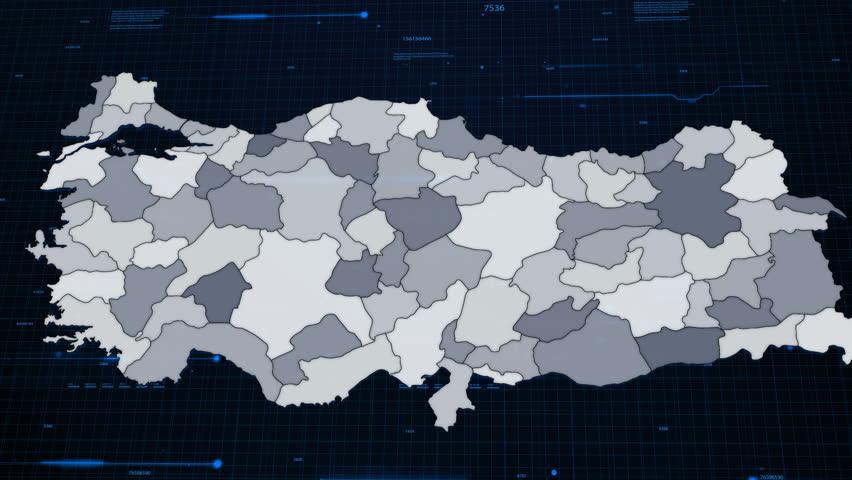 Turkey Network Map