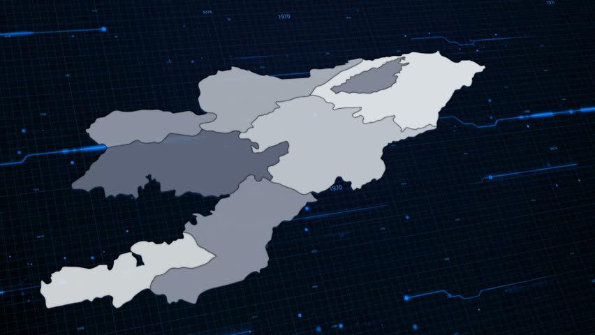 Kyrgyzstam Network Map