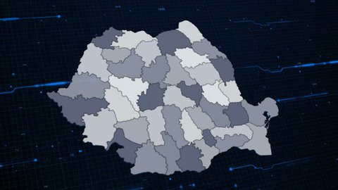 Romania Network Map