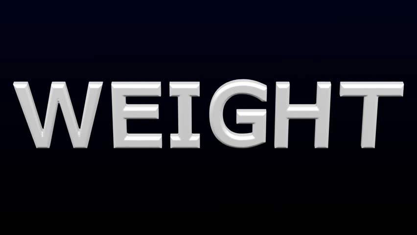 White word weight inflate with folds and deflate on black and dark blue background. Loopable. Luma matte. 3D rendering. | Shutterstock HD Video #1009573862