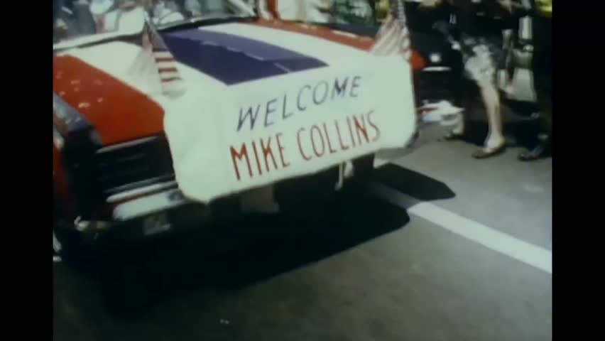 CIRCA 1969 - Local parades welcome back the Apollo 11 astronauts to their hometowns.