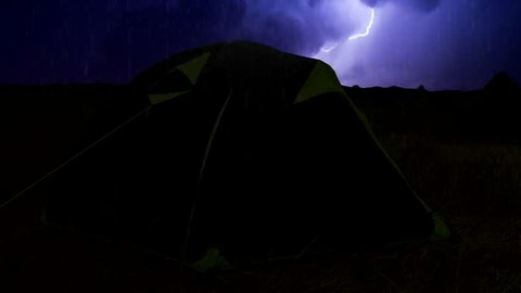 The Storm is Raging with Stock Footage Video (100% Royalty