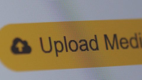clicking upload new media button, macro