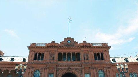 The Casa Rosada, in Buenos Aires (Argentina).