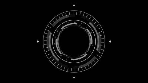 Sci Fi Futuristic User Interface HUD Lock on Target