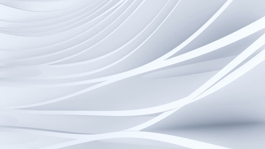 Abstract background with waving animation stripes and planes. Soft shadows and reflection. Animation of seamless loop. | Shutterstock HD Video #1010384972