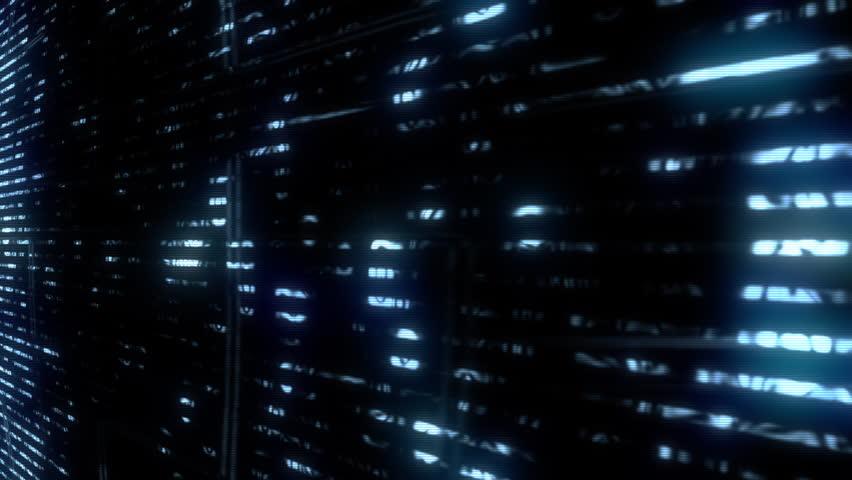Future Tech: Futuristic data glitch digital TV malfunction (Loop).   Shutterstock HD Video #1010516612