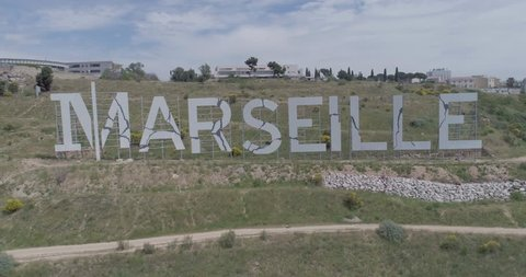 Marseille sign , France - Provence