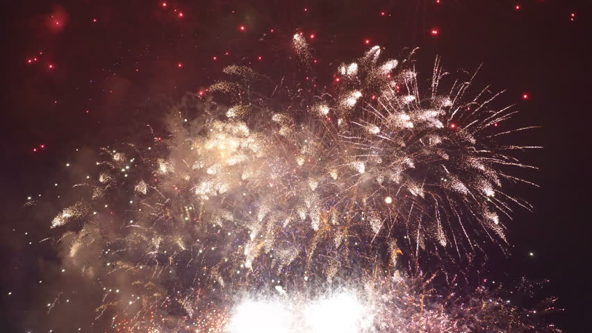 Professional Video of Fireworks Show Stock Footage Video (100%  Royalty-free) 1010762192 | Shutterstock