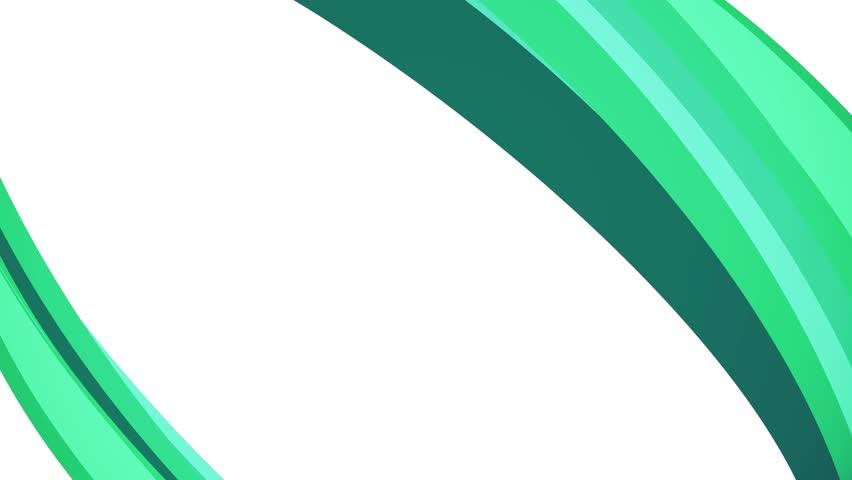 Soft colors flat 3D diagonal green frame  | Shutterstock HD Video #1010803442