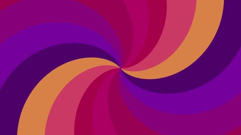Spiral shape rainbow colors seamless loop rotation animation background new quality universal motion dynamic animated colorful joyful cool nice video footage