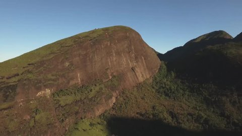 Drone Footage 4k from Secretário in Petropólis - Rio de Janeiro - Brazil longer takes