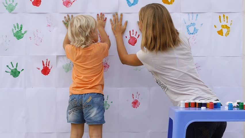 Image result for finger prints on the wall images