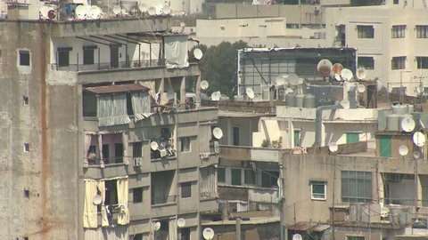Beirut, Lebanon. The district of Bourj Hammoud. Beautiful views of the city , touristic attractions and the everyday life.