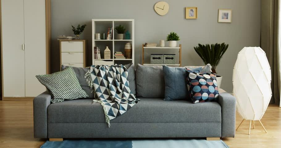 Tremendous Interior Of The Cozy Modern Stock Footage Video 100 Royalty Free 1011686672 Shutterstock Uwap Interior Chair Design Uwaporg
