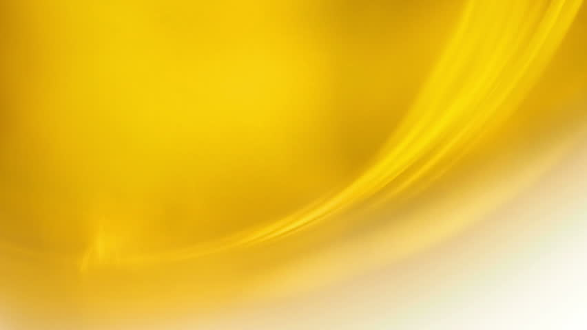 Yellow Moving Flowing Waves Abstract Background. Video