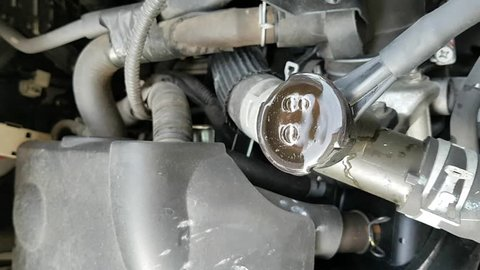 Air bubble occur in engine coolant indicated Radiator leak.