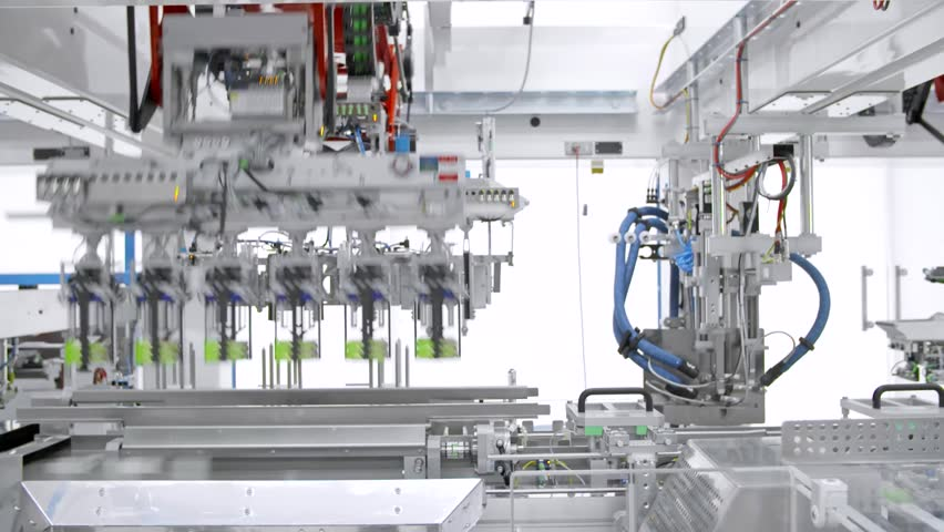 Packaging process in food factory | Shutterstock HD Video #1011901382