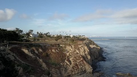 Sunken City in San Pedro by Port of Los Angeles. right near the water and ocean. caused by a natural landslide